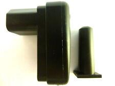Bürklin Kaltgerätekupplung inkl. Knickschutztülle,schwarz, Art.Nr.: 41F130 Neu