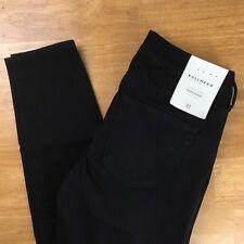 PacSun Bullhead Denim Womens Black Jeans Midrise Skinniest SZ 23 MSRP $49.95  #M