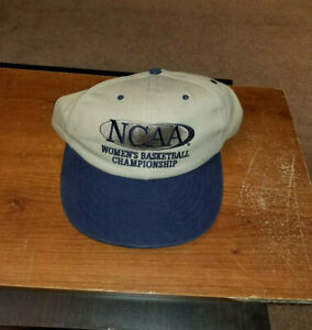 VINTAGE WOMEN'S BASKETBALL NCAA CHAMPIONSHIP HAT CAP SNAPBACK