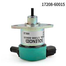 12V Fuel Shut Off Stop Solenoid Valve 17208-60015 for Kubota D905 D1005 D1105