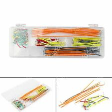 Cable Solderless Breadboard Wire Kit 140Pcs Jumper U Shape For Arduino Shield