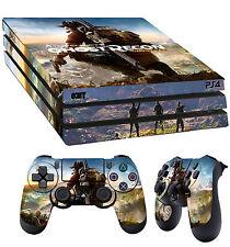 PS4 PRO Piel Tom Clancy Ghost Recon Wildlands Pegatina + 2x Pad vinilo LAY