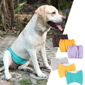 1pc Hot Pure Disposable Diapers Pet Dog Sanitary Panties Wraps Soft Belly Bands