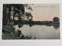 Chicago Postcard Sycamore Kishwaukee River Illinois Vintage IL Davis Sieters