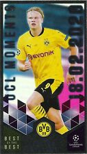 TOPPS BEST OF THE BEST 2020/21 UCL MOMENTS ERLING HAALAND NO 153