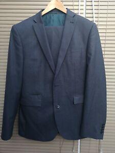 Men's Next Tailoring Tailored Fit Suit 40R 101.5CM 34W Short 24hr UK Post