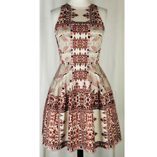 Love Fire vintage style fit & flare boho dress, M