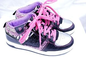 OP OCEAN PACIFIC brand girls athletic shoes size 4 youth multi color
