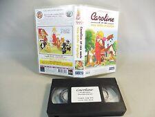 CASSETTE VHS CAROLINE ET SES AMIS/ UNE DROLE D EQUIPE