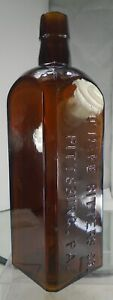 O'HARE BITTERS. PITTSBURG PENNSYLVANIA RARE BOTTLE IN VERY GOOD CONDITION