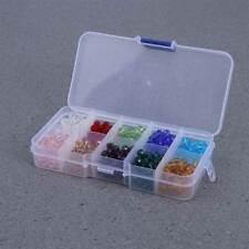 500Pcs 6mm Colorful Briolette Crystal Loose Beads DIY Bracelet Jewelry Making