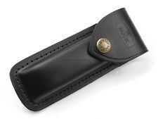 Sheath for Folding Hunter 110 Black Leather Bu110s Buck