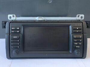 BMW 3 Series M3 E46 Wide Screen On Board Computer Navigation Head Unit