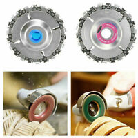 "4"" Cut Grinder Disc and Chain Wood Carving For 100/115 Angle Grinder DIY US Sell"