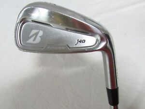 Used RH Bridgestone J40 Single 6 Iron - Regular Flex Steel Shaft