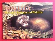 "DONCELLA...UNUSED EMPTY ALBUM..."" BRITAIN'S ENDANGERED WILDLIFE ""...1984..."
