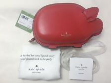 NWT Kate Spade Year Of The Pig Portia The Pig Crossbody Red Clutch PXRUA003