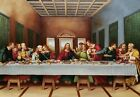Last supper, Michelangelo, 24x36, Oil Painting Reproduction on Giclee Canvas,