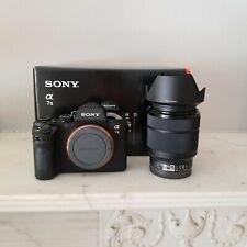 Sony Alpha A7 II 24.3MP Digital Camera Black 28-70mm +Godox Flash Kit 2729 CLKS