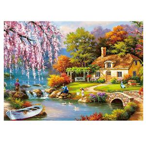 150 Piece Puzzle Landscape Pastoral Jigsaw Assemble Learn Education For Children