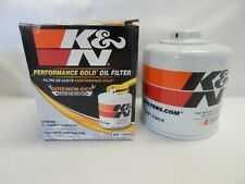 K&N Performance Engine Oil Filter HP1004 Premium Gold Wrench Off On