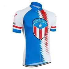Puerto Rico Cycling Jersey mens Cycling Short Sleeve Jersey