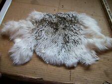 NICE tanned JACK RABBIT FUR pelt skin NATIVE CRAFTS supplies bag purse pouch R16