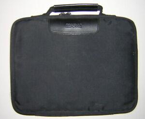 Vintage COMPAQ Contura 400 410C 420C Logo Soft Shell Carry Case Black Nylon