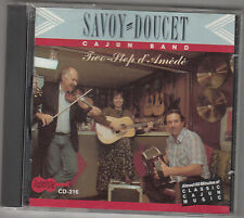 SAVOY DOUCET - two step d'amede CD