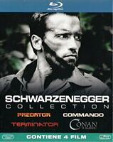 SCHWARZENEGGER Collection (4 Blu-ray) (Predator / Commando / - BLURAY DL000340