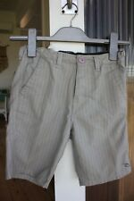 Boys RIPCURL shorts size 8 grey with adjustable waistband, very good condition