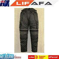 Men's Motorcycle Trousers Motorbikes Pants Camo Style Cordura 100% Waterproof LF