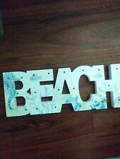 Beach Light up Sign
