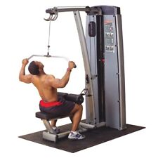 Body-Solid DLAT-SF Pro Dual Lat and Mid Row Machine, Body Solid, 200lb Stack