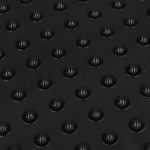 9.5x4mm Black Dome Rubber Feet Bumpers Bumpons Self Adhesive