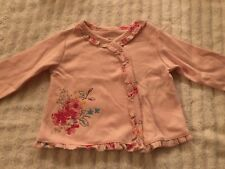 Nwt Absorba Baby girl 3-6 months jacket sweater pink flowers spring New