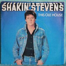 """SHAKIN STEVENS -THIS OLE HOUSE  - VINILE 7"""" 45 GIRI"""