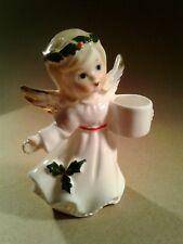 VINTAGE  PORCELAIN ANGEL CHRISTMAS DECORATION JAPAN