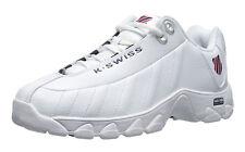 K-Swiss ST329 CMF White, Navy, Red Mens Training Tennis Shoes 03426-130-M