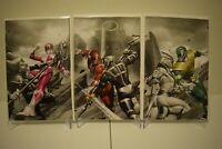 Mighty Morphin Power Rangers #50 Torpedo Color Splash Virgin Variants