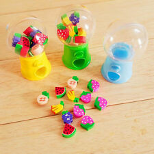 Lovely Toy Mini Candy Dispenser Gumball Vending Machine Coin Box Kid Baby Toy A