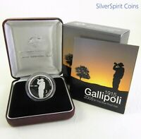 2005 GALLIPOLI 11.6g Silver Proof Coin