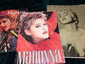 Madonna - Original 1985 - Virgin Tour Concert Program Book Who's That Girl + 1