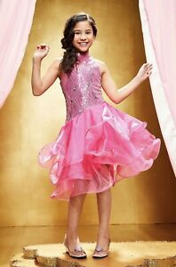 Dancing Star Costume Pink Chasing Fireflies Size 10 Brand New