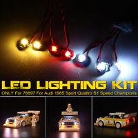 ONLY LED Light Kit For LEGO 76897 For Audi 1985 Sport Quattro S1 Speed Champions
