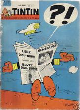 TINTIN 735 HILLMAN  MINX   PILOTE RODRIGUEZ 1962 BE SC