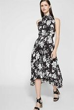 Witchery Printed Pleat Dress RRP$169 Size 14