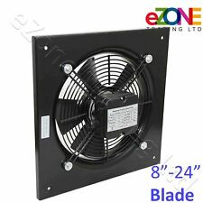 More details for industrial axial fan commercial building air ventilation extractor blower