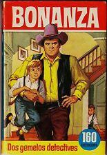 "Col. HÉROES nº 60: BONANZA ""Dos gemelos detectives"". BRUGUERA, 1ª ed. 1965"