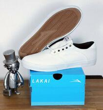 Lakai Footwear Skate Schuhe Shoes Porter White White Canvas 13/48,5